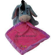 Doudou Disney Bourriquet rose