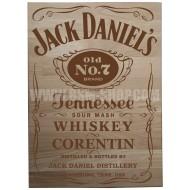 Panneau bois ' Jack Daniel's '