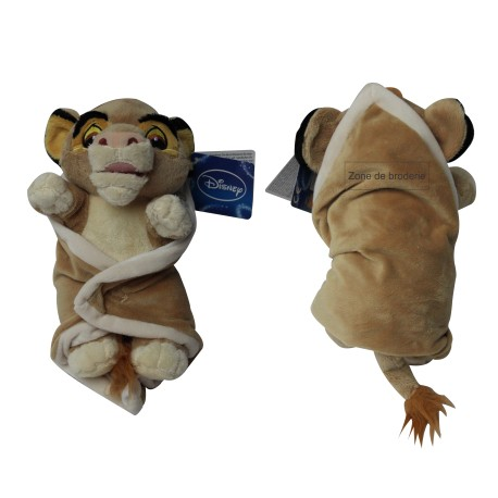 Doudou Disney Simba Le Roi Lion grand